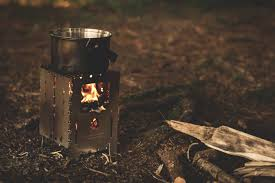 how to heat a camper without electricity - wood stove