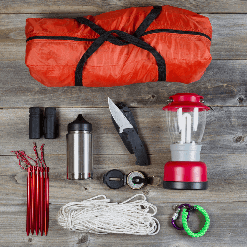 outdoor gear - camping tips for beginners