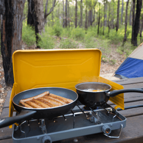 camping food - camping tips for beginners