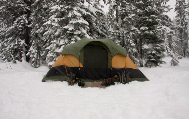 Winter Camping - types of camping