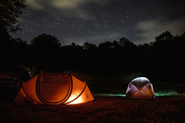 Tent Camping - types of camping
